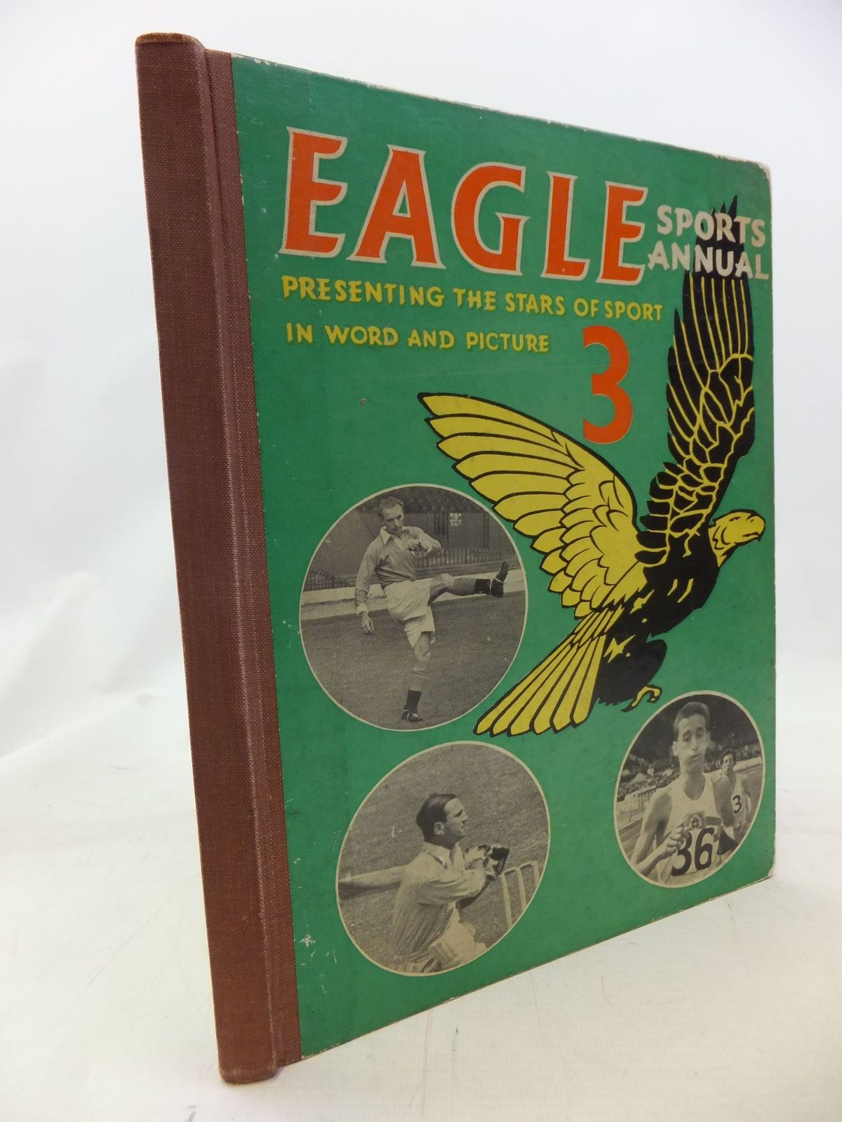 Photo of THE THIRD EAGLE SPORTS ANNUAL written by Morris, Marcus illustrated by White, Brian published by Hulton Press Ltd. (STOCK CODE: 1711417)  for sale by Stella & Rose's Books