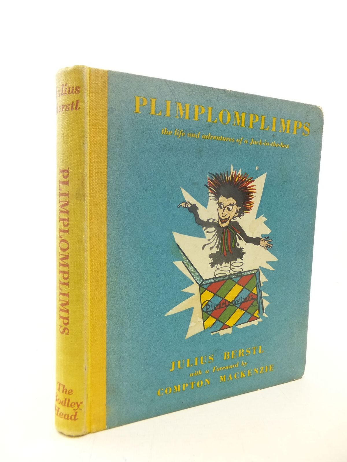 Photo of PLIMPLOMPLIMPS THE LIFE AND ADVENTURES OF JACK-IN-THE-BOX written by Berstl, Julius<br />Mackenzie, Compton illustrated by Hofheinz, Wilgart published by The Bodley Head (STOCK CODE: 1711471)  for sale by Stella & Rose's Books