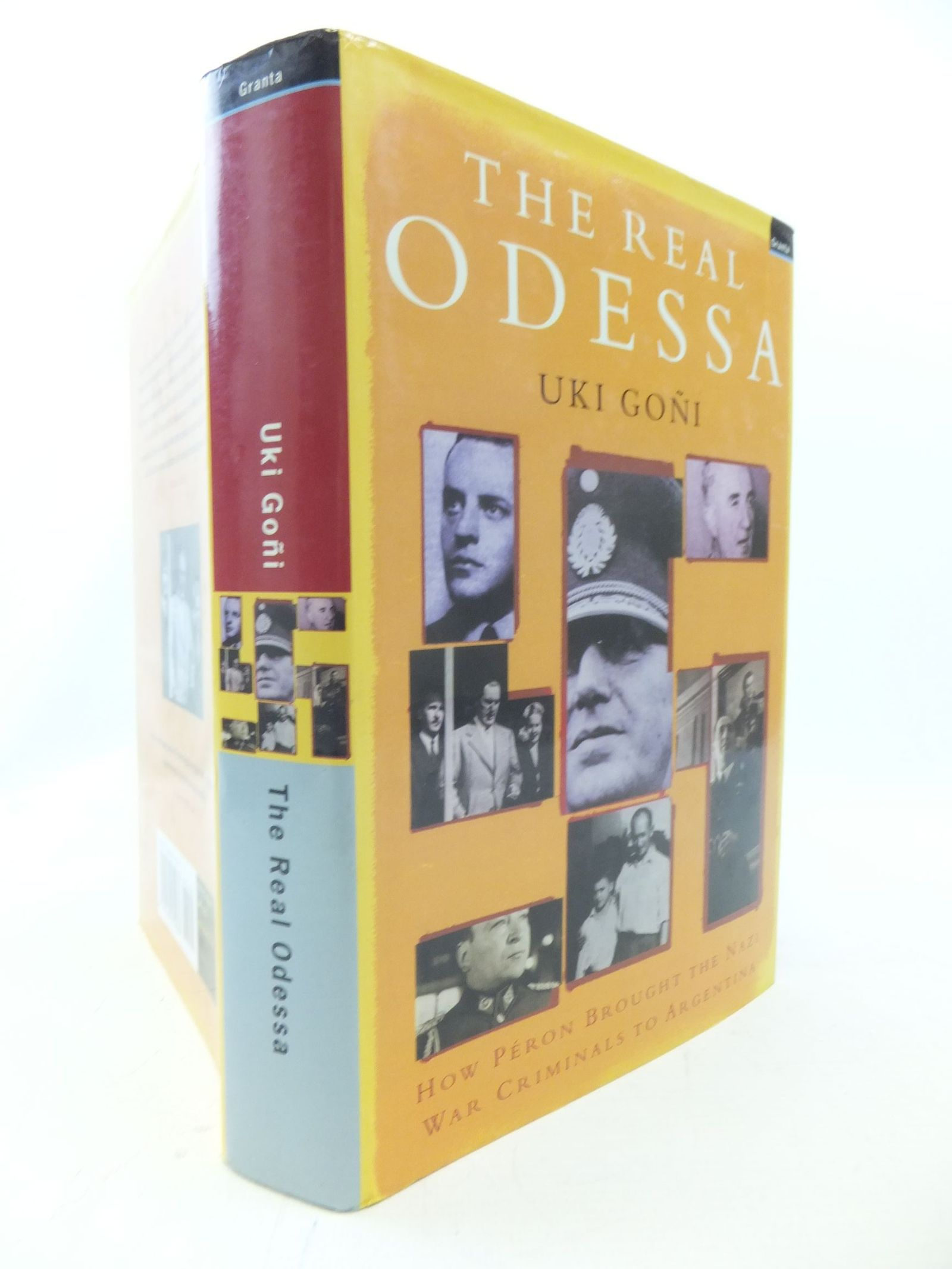 Photo of THE REAL ODESSA HOW PERON BROUGHT THE NAZI WAR CRIMINALS TO ARGENTINA written by Goni, Uki published by Granta Books (STOCK CODE: 1711523)  for sale by Stella & Rose's Books