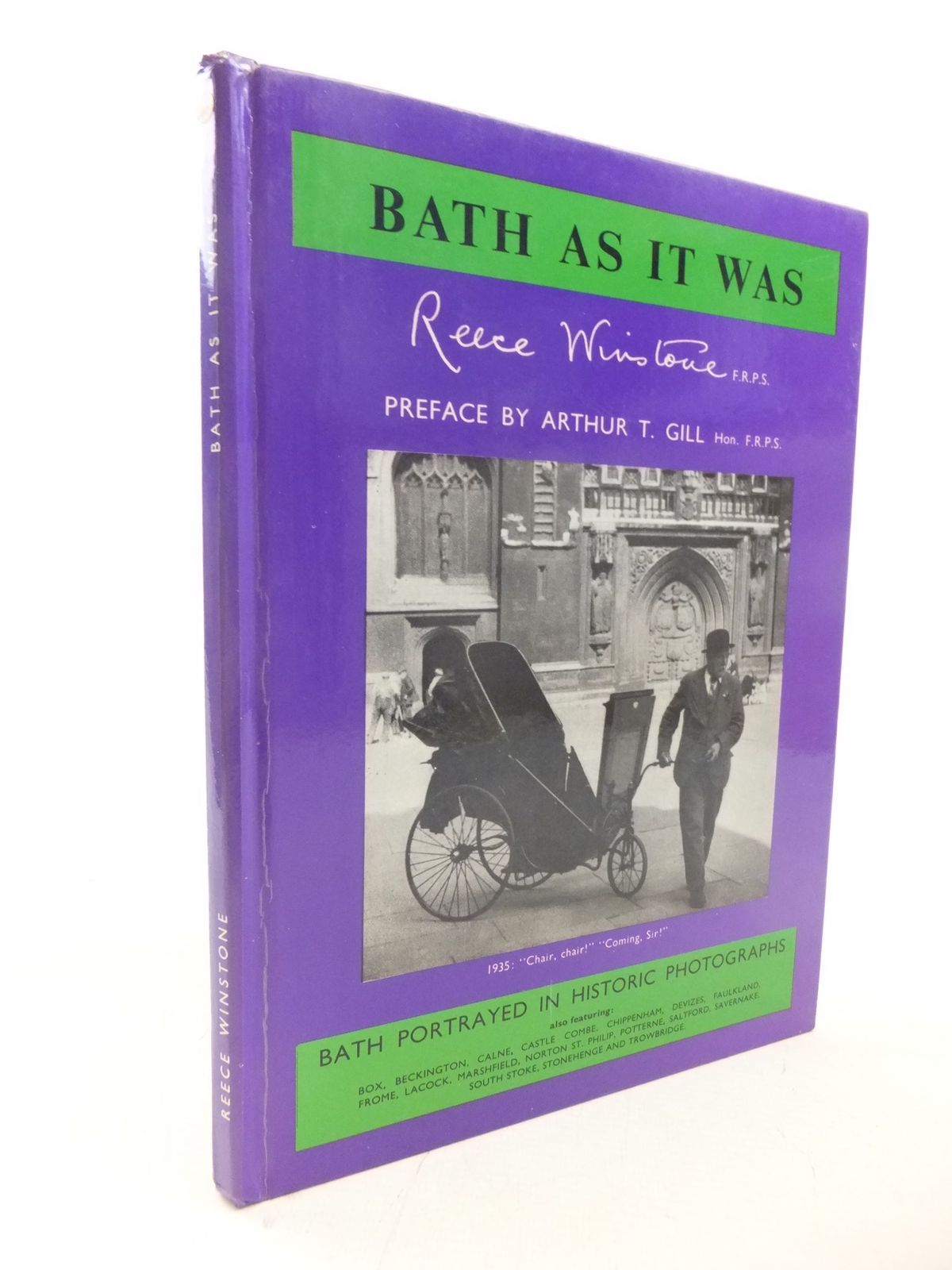 Photo of BATH AS IT WAS written by Winstone, Reece published by Reece Winstone (STOCK CODE: 1711545)  for sale by Stella & Rose's Books