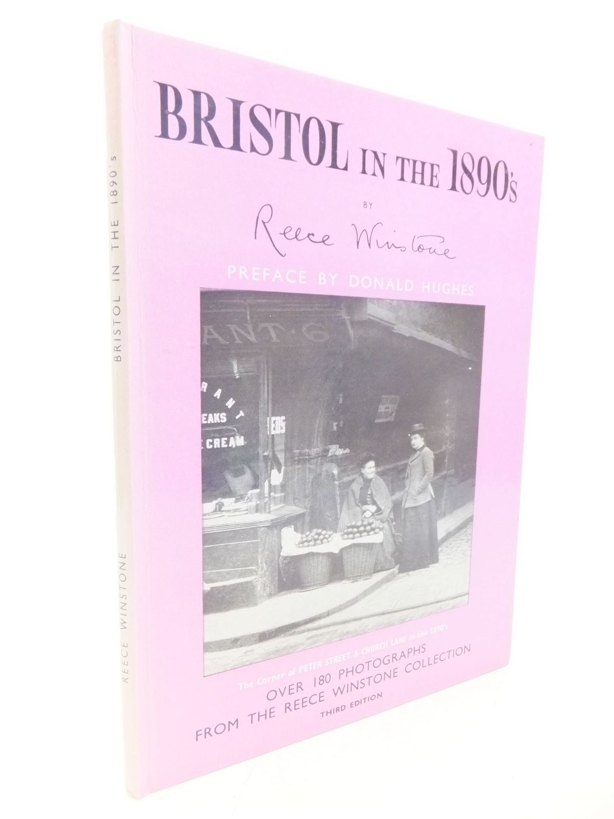 Photo of BRISTOL IN THE 1890'S written by Winstone, Reece published by Reece Winstone (STOCK CODE: 1711546)  for sale by Stella & Rose's Books