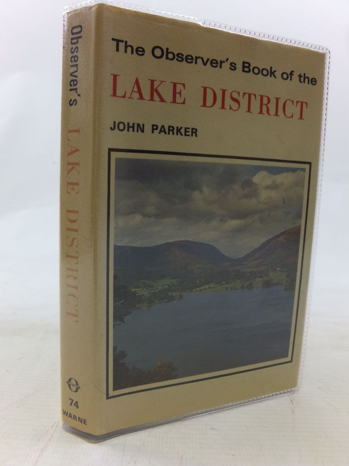 Photo of THE OBSERVER'S BOOK OF THE LAKE DISTRICT written by Parker, John published by Frederick Warne & Co Ltd. (STOCK CODE: 1711573)  for sale by Stella & Rose's Books