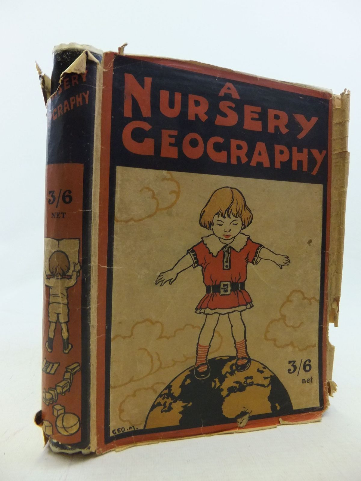 Photo of A NURSERY GEOGRAPHY written by Dickson, George S. illustrated by Morrow, George published by T.C. & E.C. Jack Ltd. (STOCK CODE: 1711697)  for sale by Stella & Rose's Books