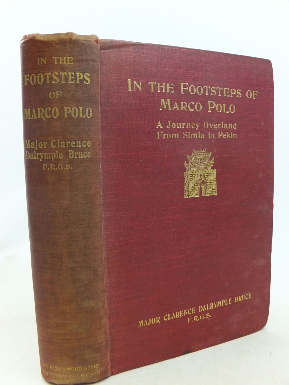 Photo of IN THE FOOTSTEPS OF MARCO POLO written by Bruce, Clarence Dalrymple published by William Blackwood and Sons (STOCK CODE: 1711750)  for sale by Stella & Rose's Books