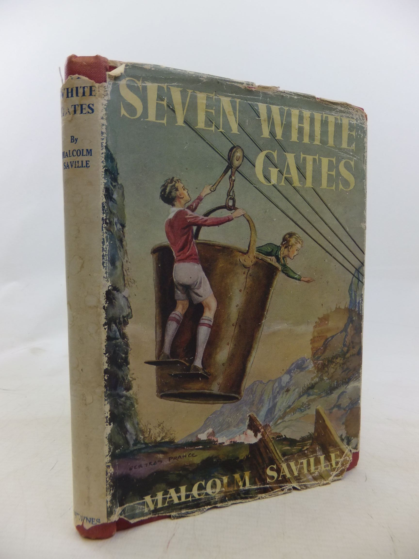 Photo of SEVEN WHITE GATES written by Saville, Malcolm illustrated by Prance, Bertram published by George Newnes Limited (STOCK CODE: 1711828)  for sale by Stella & Rose's Books