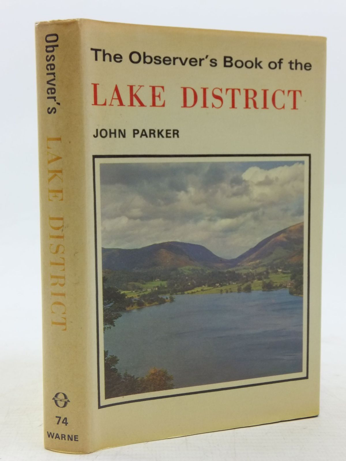 Photo of THE OBSERVER'S BOOK OF THE LAKE DISTRICT written by Parker, John published by Frederick Warne & Co Ltd. (STOCK CODE: 1711865)  for sale by Stella & Rose's Books