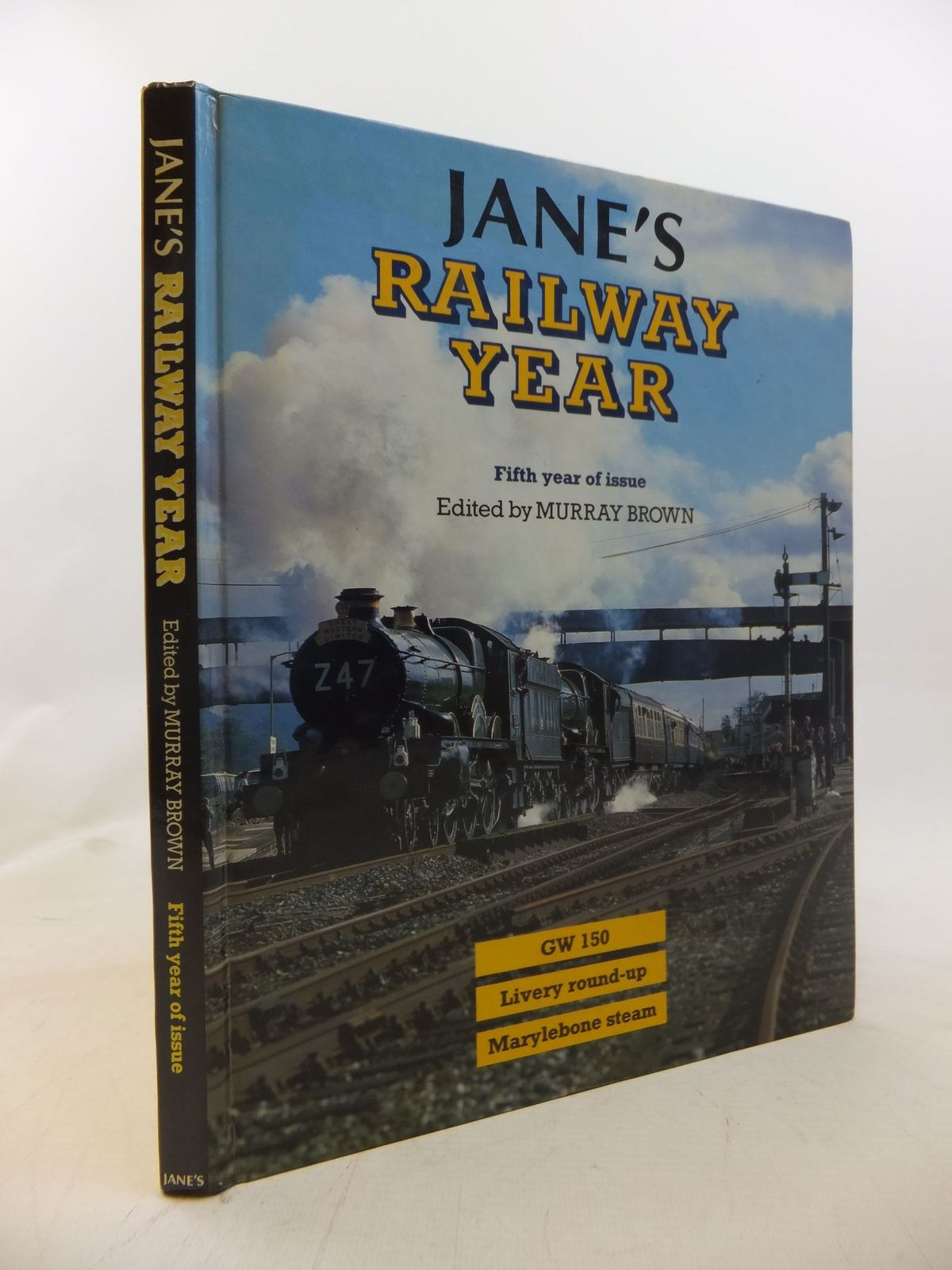Photo of JANE'S RAILWAY YEAR written by Brown, Murray published by Jane's Publishing Company (STOCK CODE: 1711911)  for sale by Stella & Rose's Books