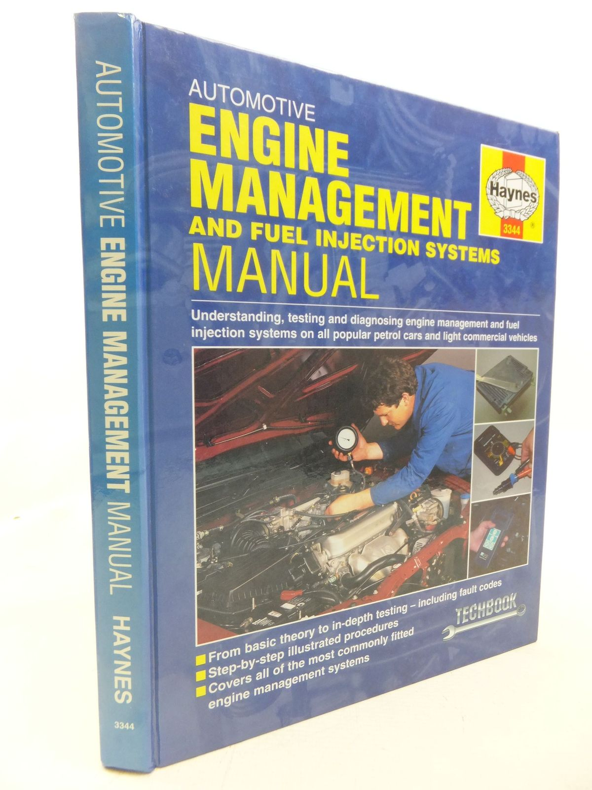 Photo of AUTOMOTIVE ENGINE MANAGEMENT SYSTEMS & FUEL INJECTION TECHBOOK  written by White, Charles published