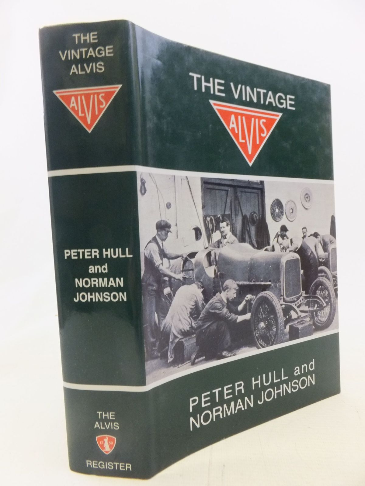 Photo of THE VINTAGE ALVIS written by Hull, Peter<br />Johnson, N. published by The Alvis Register (STOCK CODE: 1712087)  for sale by Stella & Rose's Books