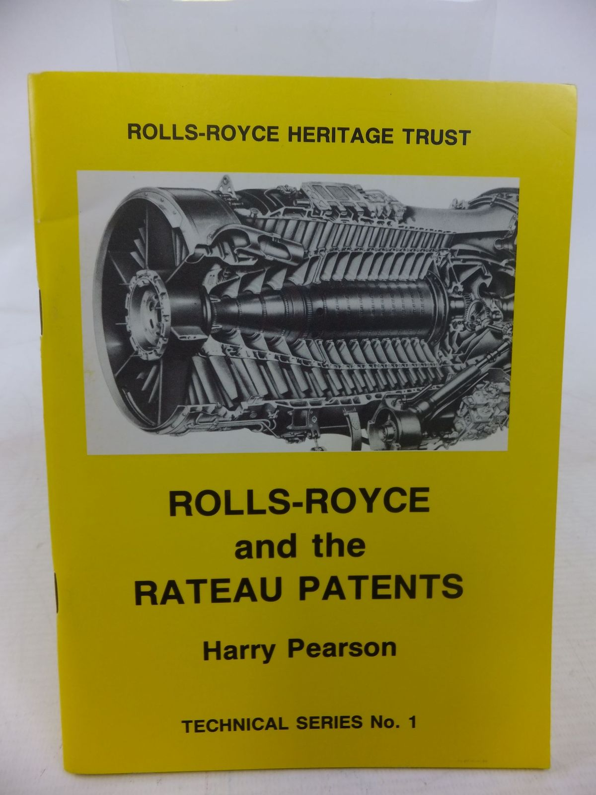 Photo of ROLLS-ROYCE AND THE RATEAU PATENTS written by Pearson, Harry published by Rolls-Royce Heritage Trust (STOCK CODE: 1712144)  for sale by Stella & Rose's Books