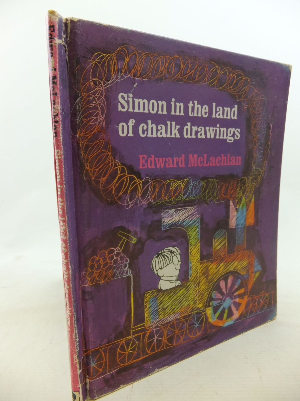 Photo of SIMON IN THE LAND OF CHALK DRAWINGS written by McLachlan, Edward illustrated by McLachlan, Edward published by Brockhampton Press (STOCK CODE: 1712438)  for sale by Stella & Rose's Books