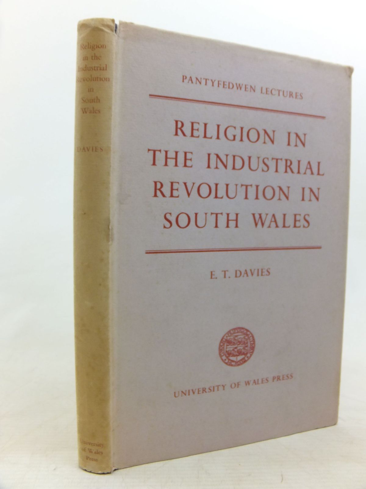 Photo of RELIGION IN THE INDUSTRIAL REVOLUTION IN SOUTH WALES written by Davies, E. Tegla published by University of Wales (STOCK CODE: 1712720)  for sale by Stella & Rose's Books