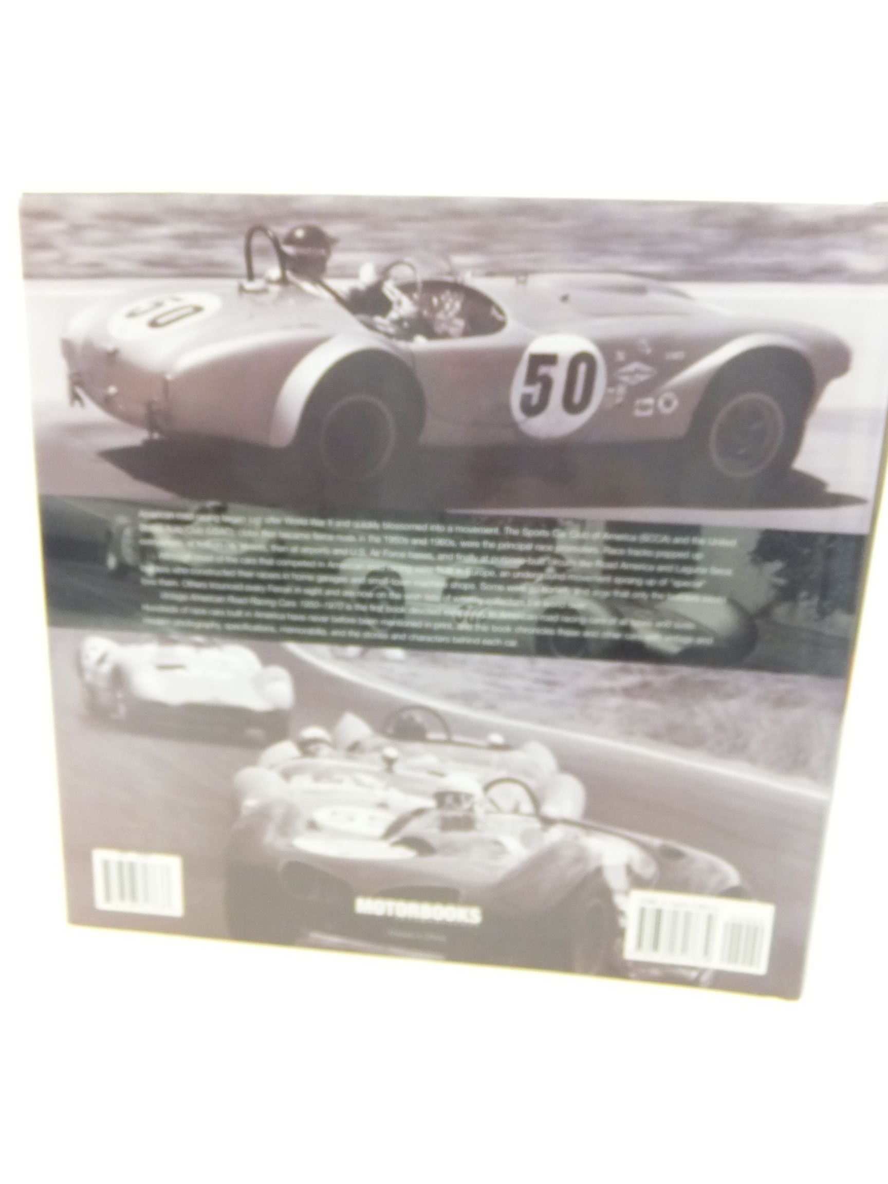 VINTAGE AMERICAN ROAD RACING CARS 1950-1970 written by Pace, Harold ...