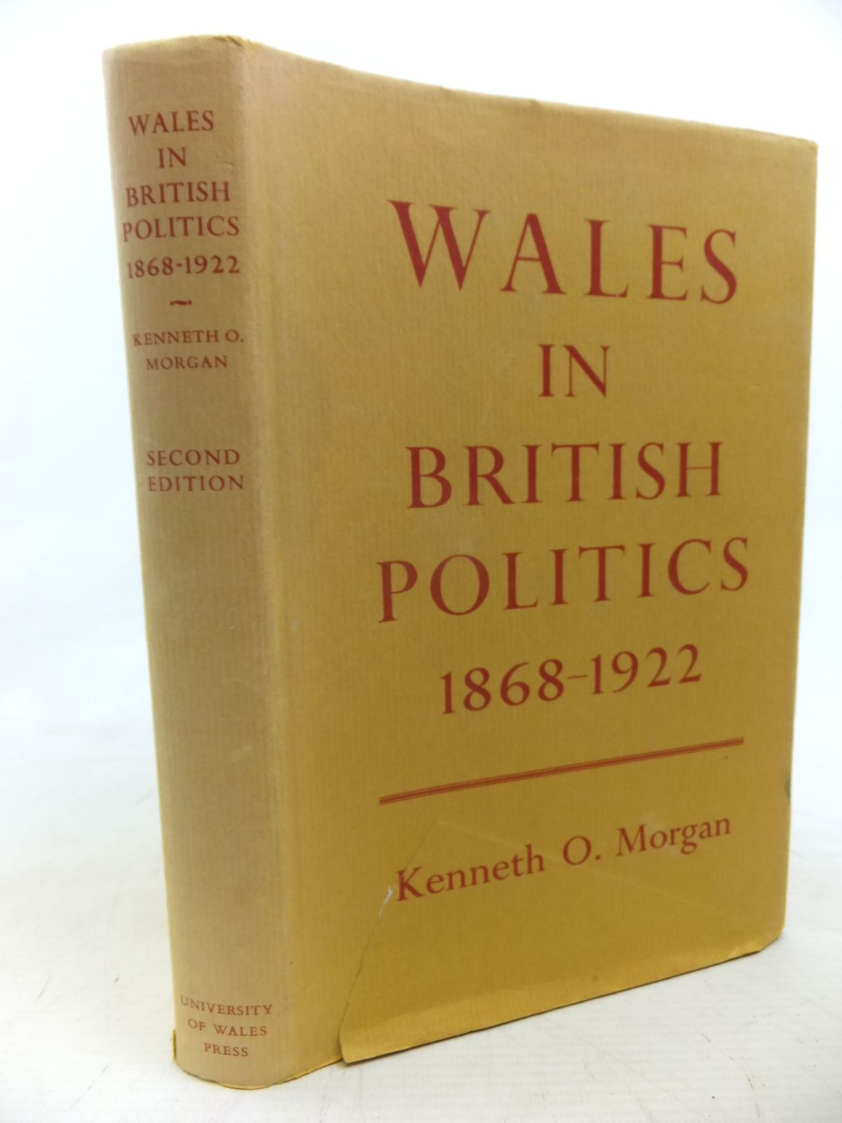 Photo of WALES IN BRITISH POLITICS 1868-1922 written by Morgan, Kenneth O. published by University of Wales (STOCK CODE: 1712823)  for sale by Stella & Rose's Books
