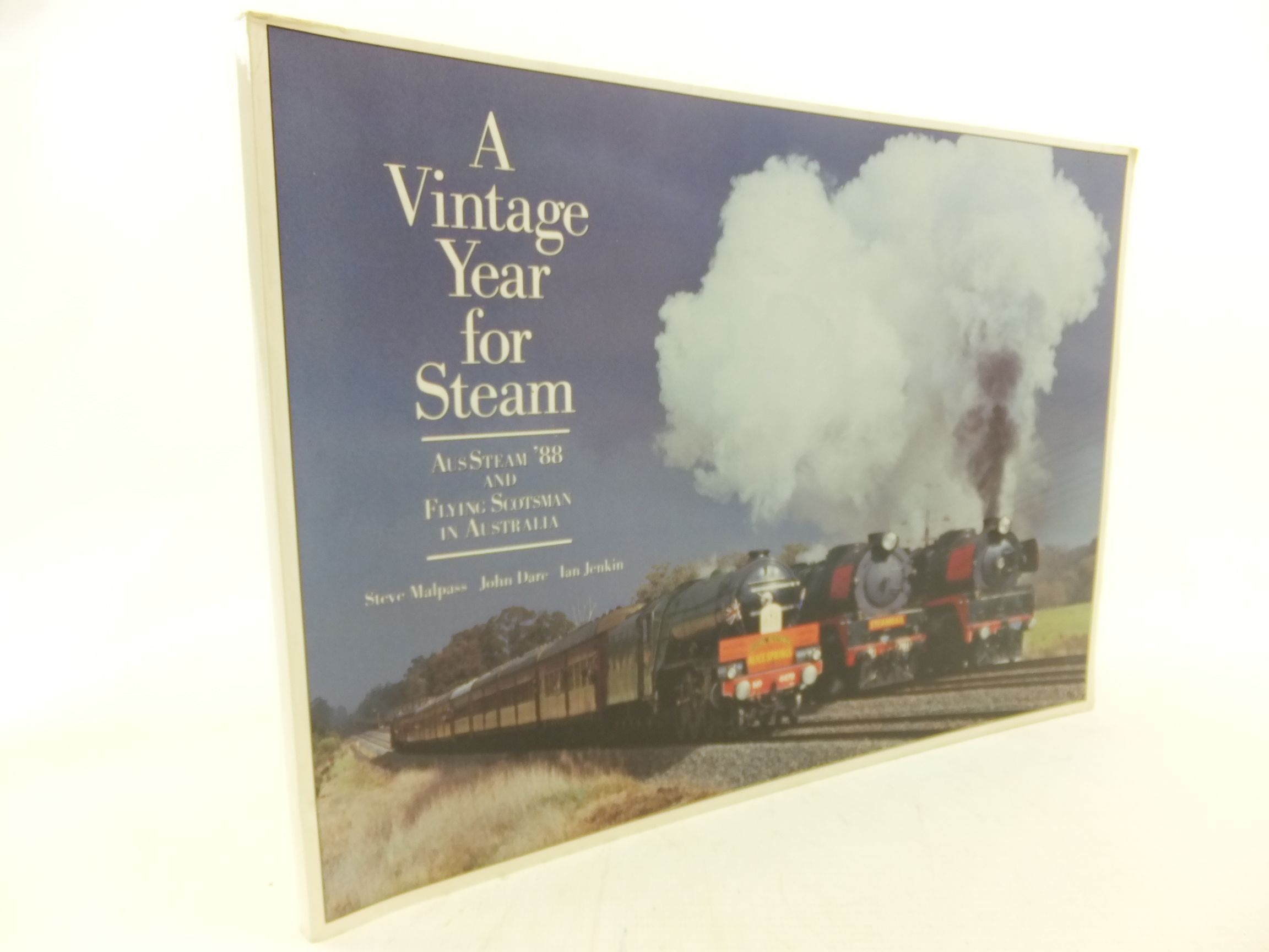 Photo of A VINTAGE YEAR FOR STEAM written by Malpass, Steve<br />Dare, John<br />Jenkins, Ian published by Australian Railway Historical Society (STOCK CODE: 1712901)  for sale by Stella & Rose's Books