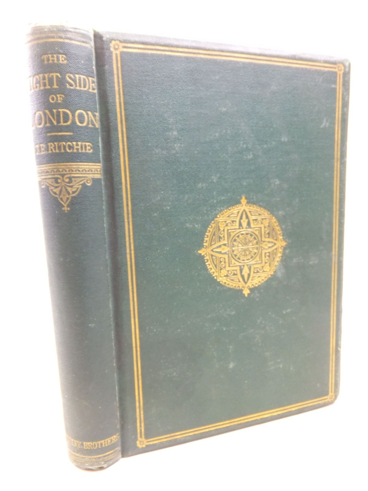 Photo of THE NIGHT SIDE OF LONDON written by Ritchie, J. Ewing published by Tinsley Brothers (STOCK CODE: 1712933)  for sale by Stella & Rose's Books
