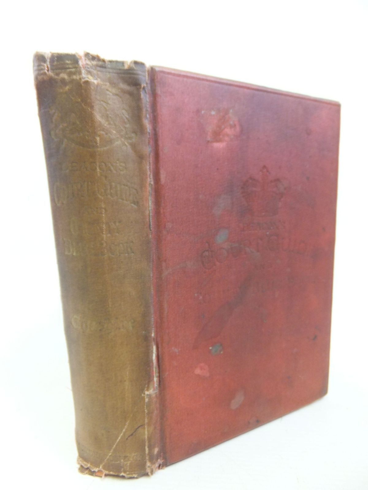 Photo of DEACON'S CHESHIRE COURT GUIDE AND COUNTY BLUE BOOK published by C.W. Deacon & Co. (STOCK CODE: 1713112)  for sale by Stella & Rose's Books