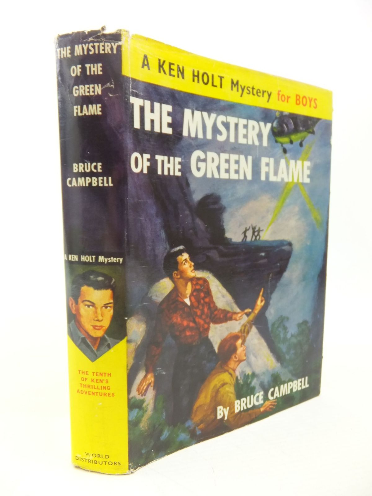 Photo of THE MYSTERY OF THE GREEN FLAME written by Campbell, Bruce published by World Distributors (manchester) Ltd (STOCK CODE: 1713407)  for sale by Stella & Rose's Books