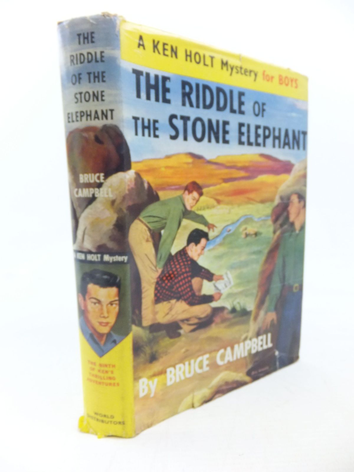 Photo of THE RIDDLE OF THE STONE ELEPHANT written by Campbell, Bruce published by World Distributors (manchester) Ltd (STOCK CODE: 1713418)  for sale by Stella & Rose's Books