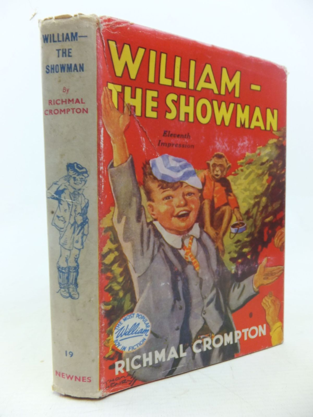 Photo of WILLIAM THE SHOWMAN written by Crompton, Richmal illustrated by Henry, Thomas published by George Newnes Limited (STOCK CODE: 1713442)  for sale by Stella & Rose's Books