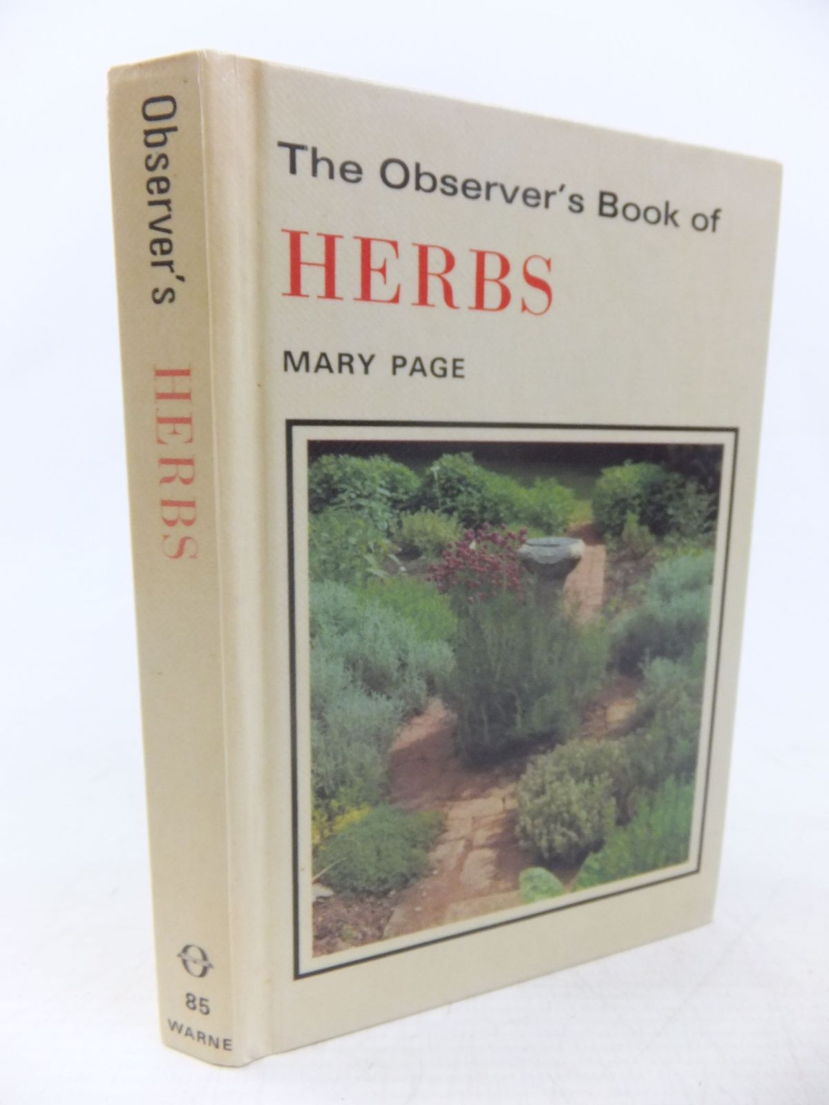 Photo of THE OBSERVER'S BOOK OF HERBS written by Page, Mary illustrated by Barber, Norman published by Frederick Warne & Co Ltd. (STOCK CODE: 1713558)  for sale by Stella & Rose's Books