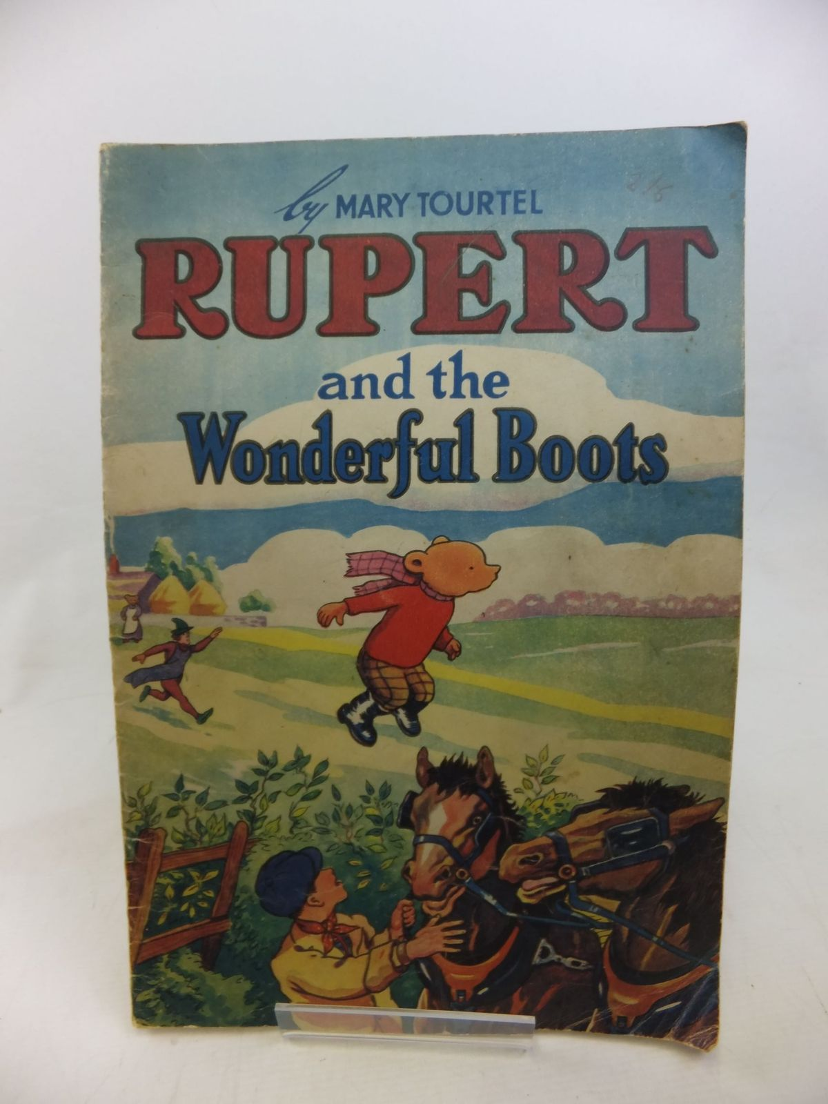 Photo of RUPERT AND THE WONDERFUL BOOTS written by Tourtel, Mary illustrated by Tourtel, Mary published by Sampson Low, Marston & Co. Ltd. (STOCK CODE: 1713587)  for sale by Stella & Rose's Books