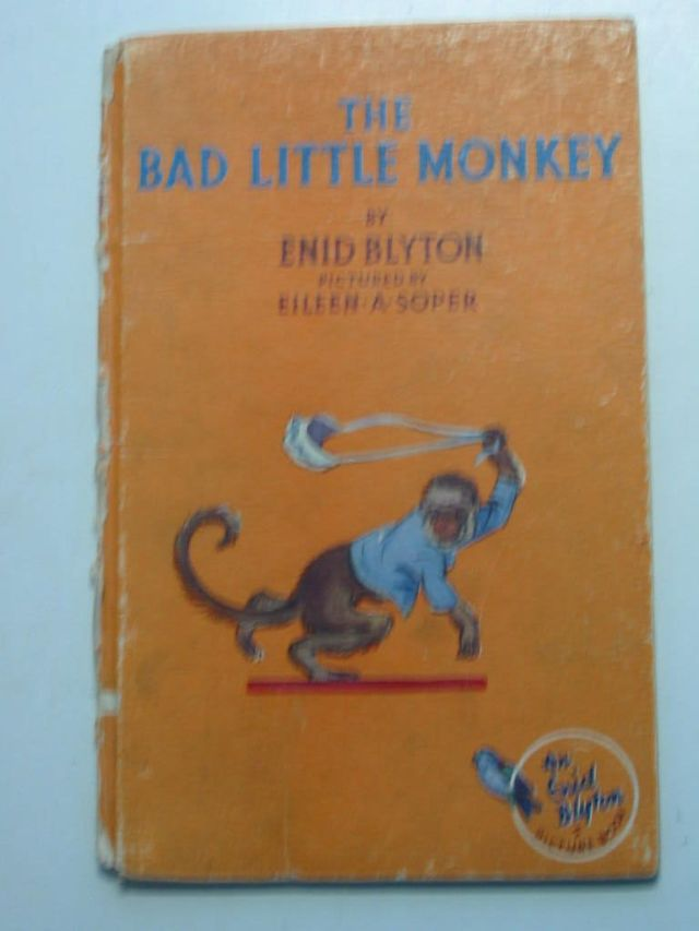 Photo of THE BAD LITTLE MONKEY written by Blyton, Enid illustrated by Soper, Eileen published by The Brockhampton Press Ltd. (STOCK CODE: 1801024)  for sale by Stella & Rose's Books