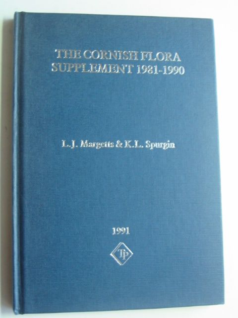 Photo of THE CORNISH FLORA SUPPLEMENT 1981-1990 written by Margetts, L.J.<br />Spurgin, K.L. published by The Trendine Press (STOCK CODE: 1802287)  for sale by Stella & Rose's Books