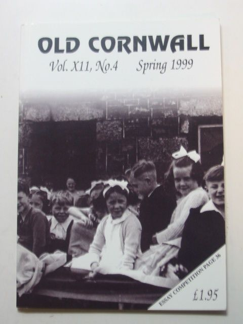 Photo of OLD CORNWALL VOL. XII No. 4 SPRING 1999 written by Knight, Terry published by The Federation Of Old Cornwall Societies (STOCK CODE: 1802402)  for sale by Stella & Rose's Books