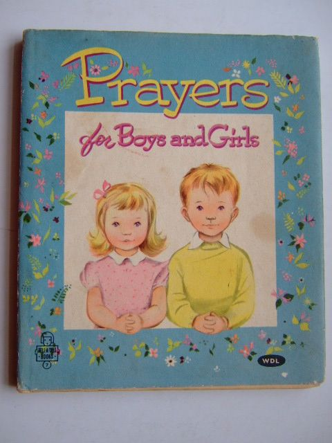 Photo of PRAYERS FOR BOYS AND GIRLS illustrated by Cummings, Alison published by Whitman Publishing Company (STOCK CODE: 1804317)  for sale by Stella & Rose's Books