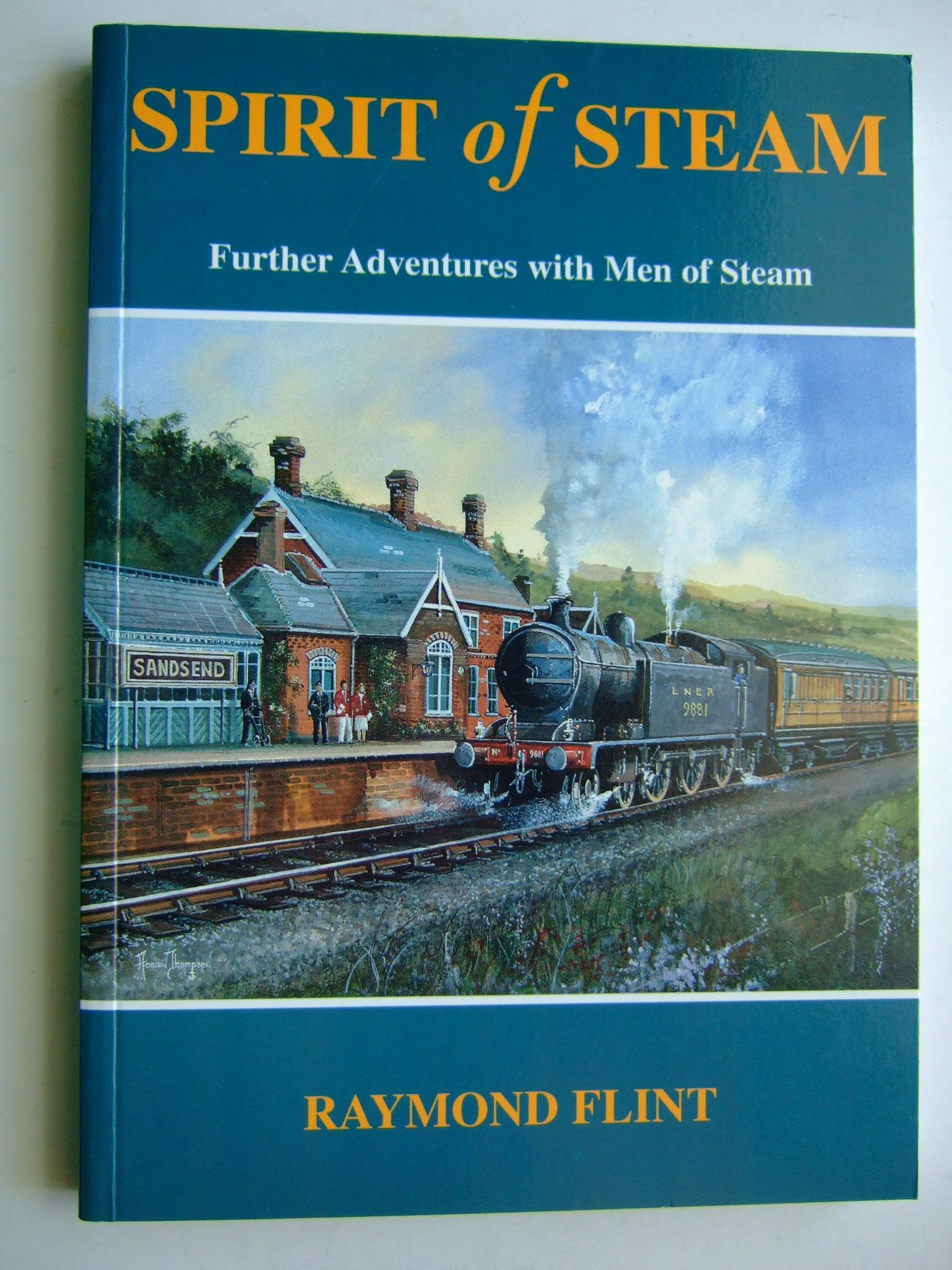 Photo of SPIRIT OF STEAM written by Flint, Raymond published by Santona Publications (STOCK CODE: 1804499)  for sale by Stella & Rose's Books