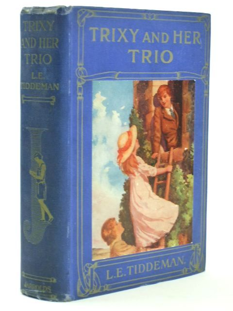 Photo of TRIXY AND HER TRIO written by Tiddeman, L.E. illustrated by Gilbert, Bertram published by Jarrolds (STOCK CODE: 1804553)  for sale by Stella & Rose's Books