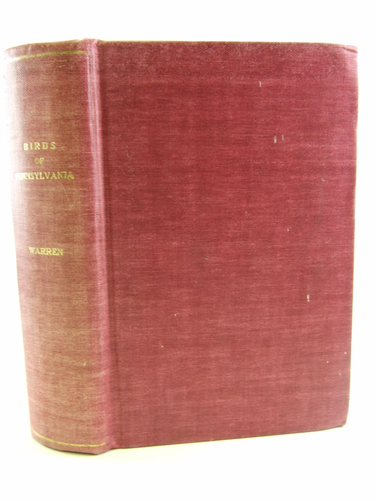 Photo of REPORT ON THE BIRDS OF PENNSYLVANIA written by Warren, B.H. published by E.K. Cole Ltd. (STOCK CODE: 1805598)  for sale by Stella & Rose's Books