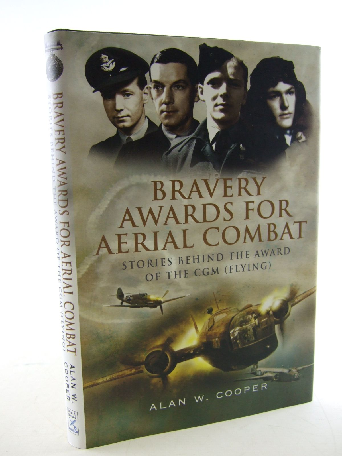 Photo of BRAVERY AWARDS FOR AERIAL COMBAT written by Cooper, Alan W. published by Pen & Sword Aviation (STOCK CODE: 1805825)  for sale by Stella & Rose's Books