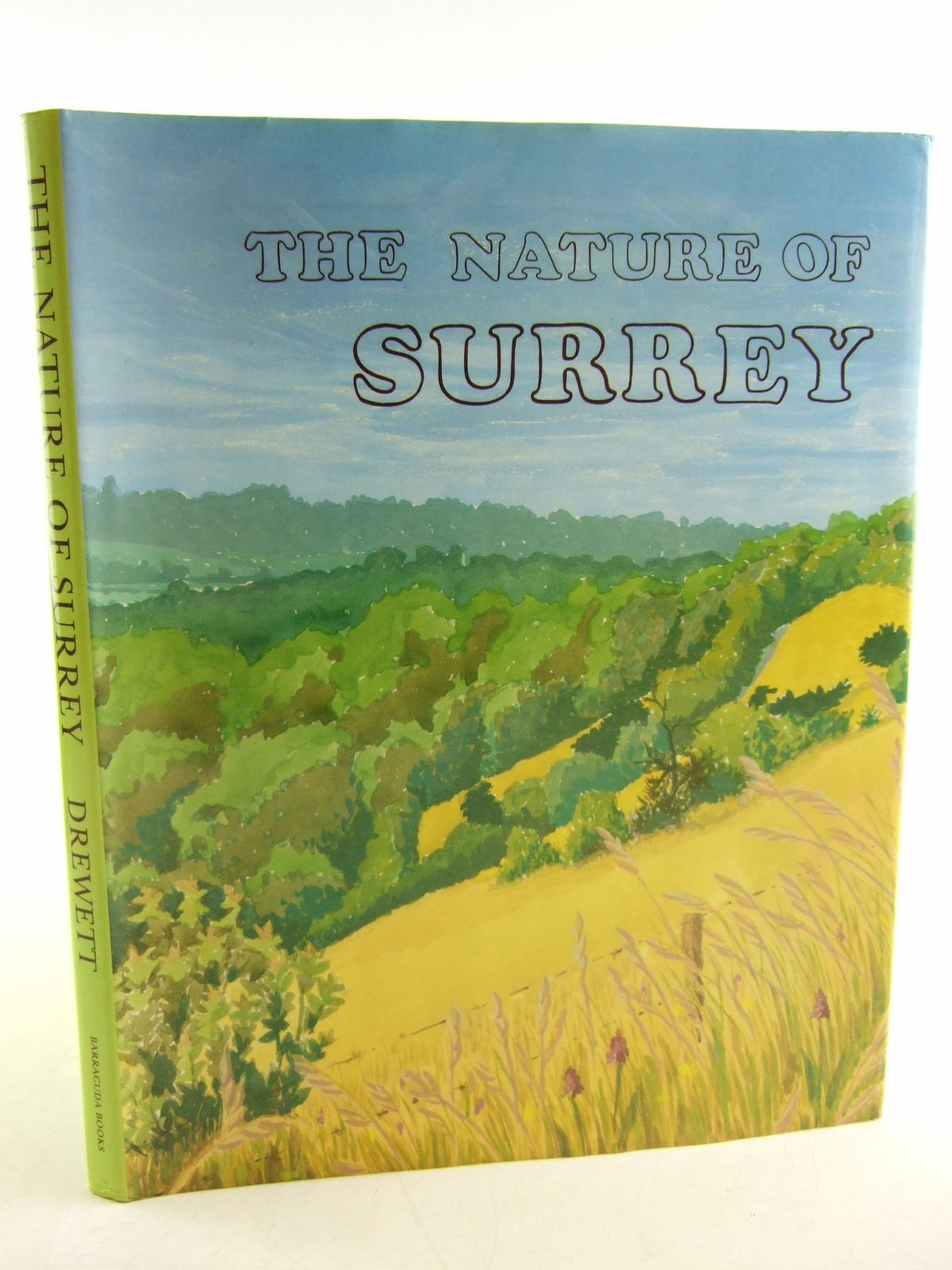 Photo of THE NATURE OF SURREY written by Drewett, John illustrated by Thompson, Rosalie S.<br />et al.,  published by Barracuda Books (STOCK CODE: 1806210)  for sale by Stella & Rose's Books