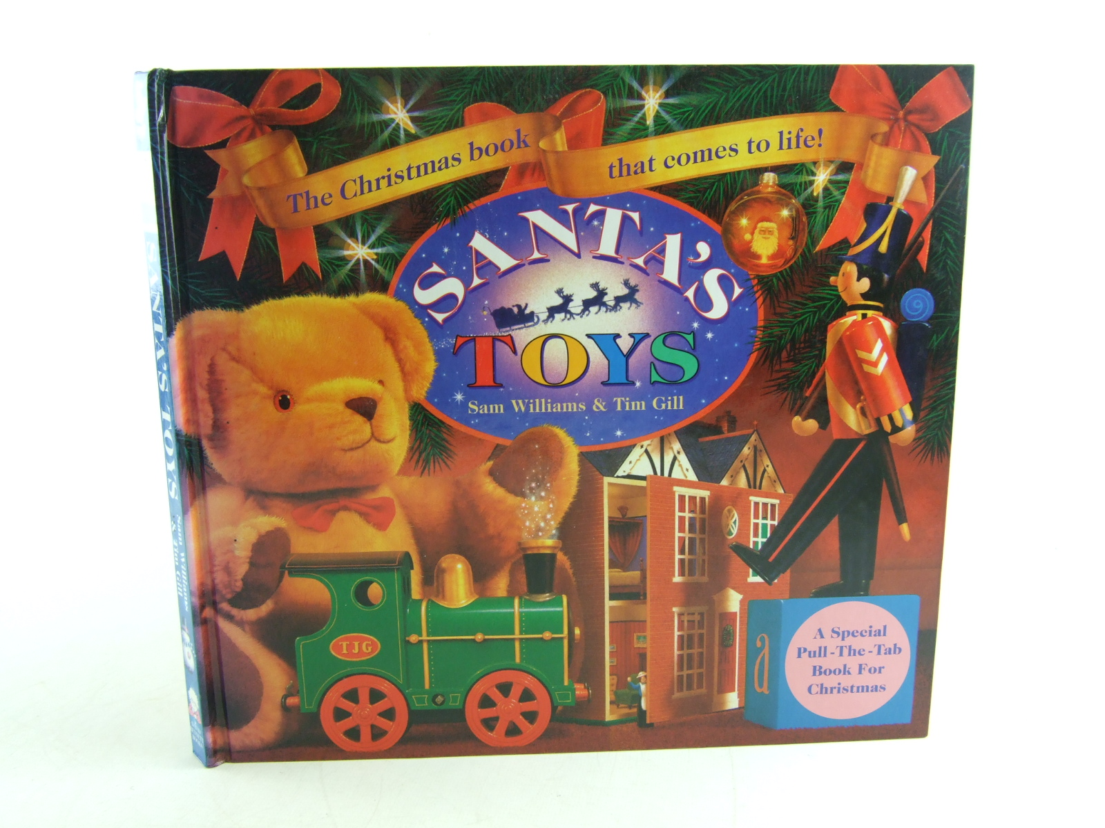Photo of SANTA'S TOYS written by Williams, Sam illustrated by Gill, Tim published by David Bennett Books Ltd. (STOCK CODE: 1806474)  for sale by Stella & Rose's Books