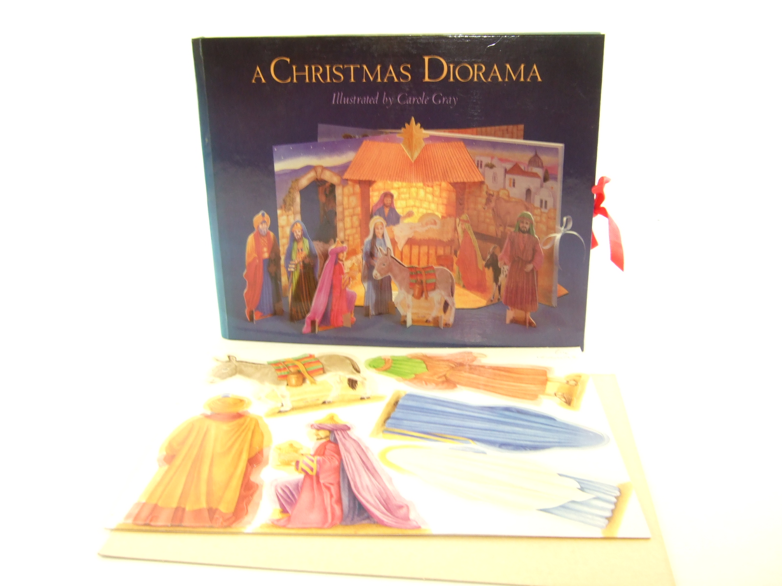 Photo of A CHRISTMAS DIORAMA illustrated by Gray, Carole published by Brown Wells & Jacobs Ltd. (STOCK CODE: 1806492)  for sale by Stella & Rose's Books