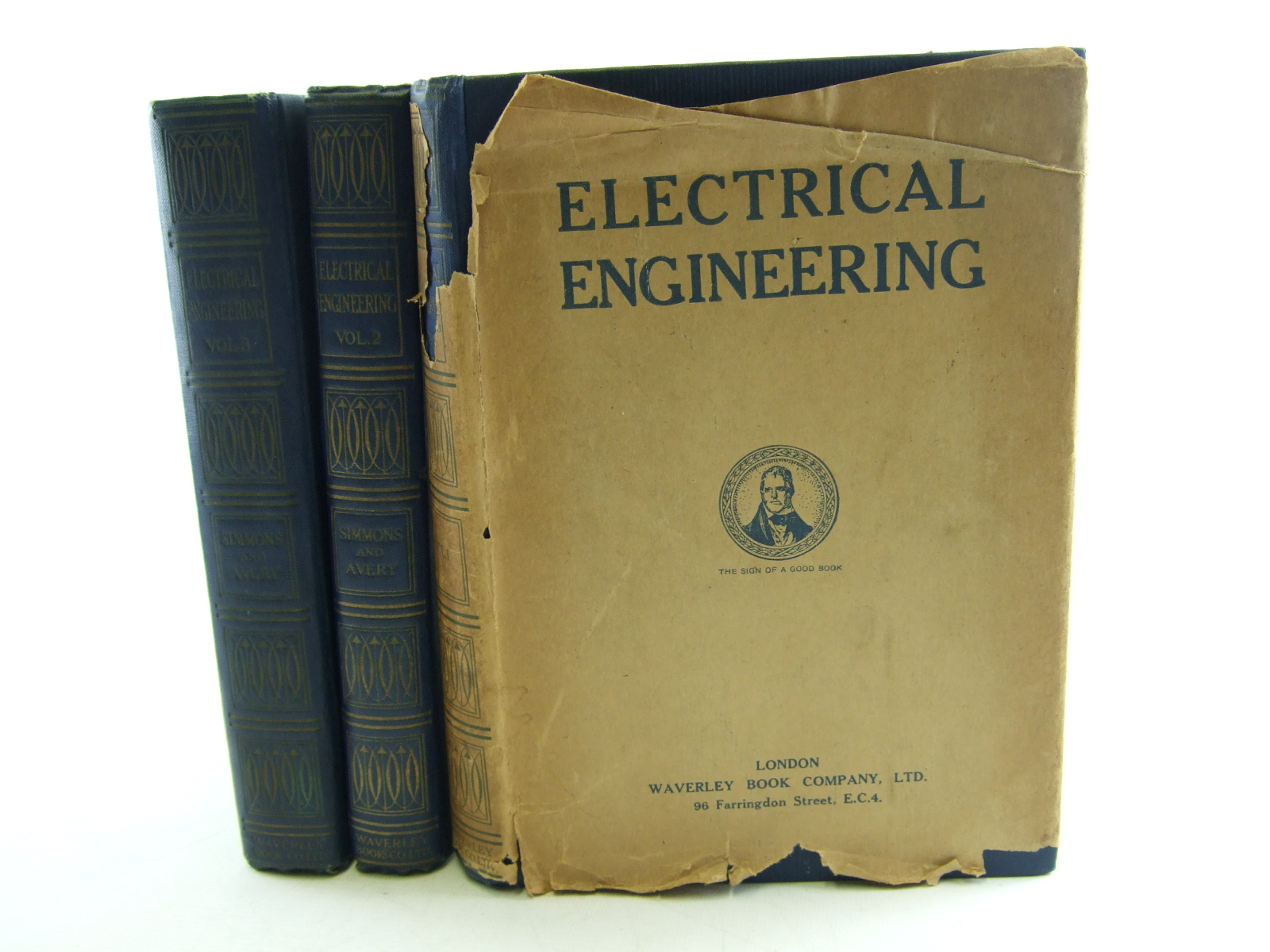 Photo of ELECTRICAL ENGINEERING (3 VOLUMES) written by Simmons, Harold H.<br />Avery, Alfred H. published by The Waverley Book Company Ltd. (STOCK CODE: 1806579)  for sale by Stella & Rose's Books