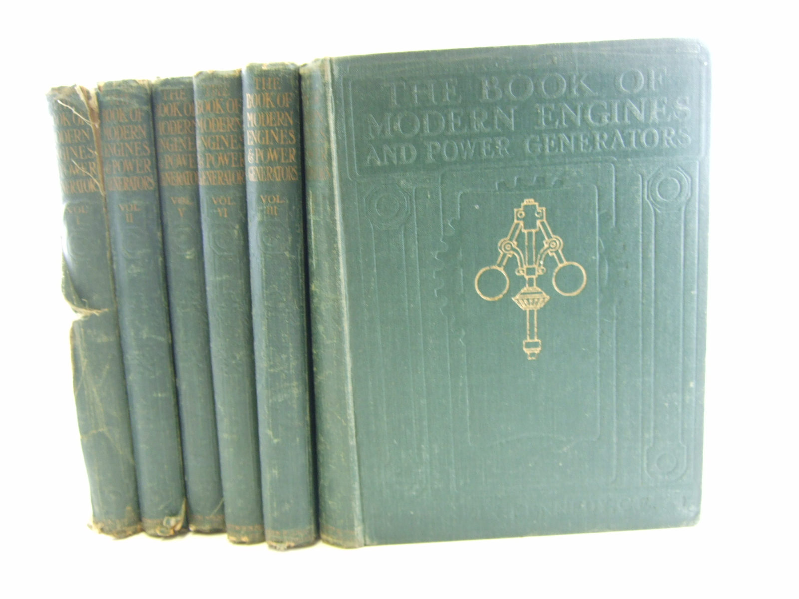 Photo of THE BOOK OF MODERN ENGINES (6 VOLUMES) written by Kennedy, Rankin published by Caxton Publishing Company Limited (STOCK CODE: 1806583)  for sale by Stella & Rose's Books