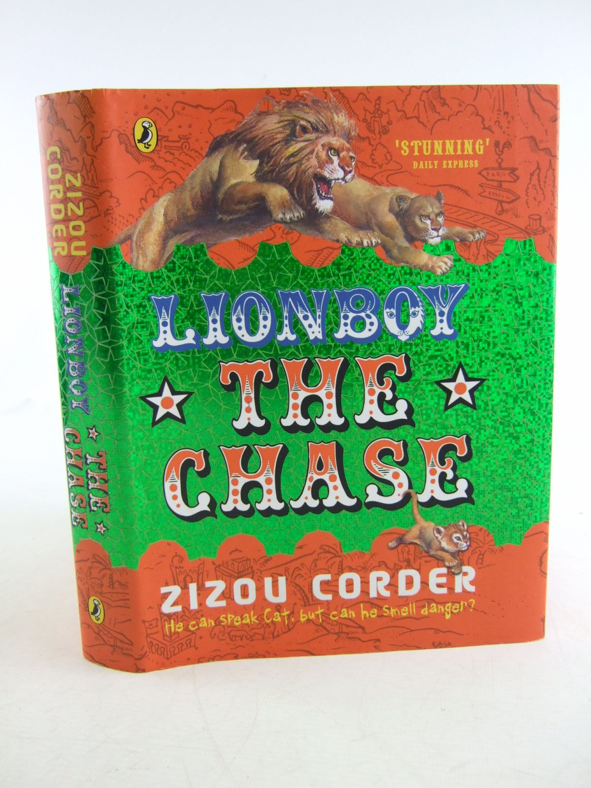 Photo of LIONBOY: THE CHASE written by Corder, Zizou published by Puffin Books (STOCK CODE: 1806626)  for sale by Stella & Rose's Books