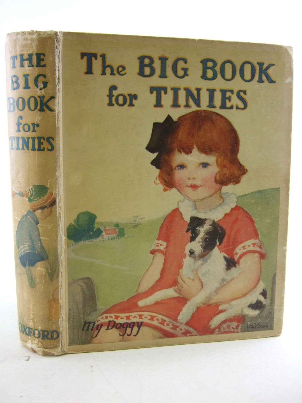 Photo of THE BIG BOOK FOR TINIES written by Strang, Mrs. Herbert<br />et al,  illustrated by Sowerby, Millicent<br />et al.,  published by Humphrey Milford, Oxford University Press (STOCK CODE: 1806827)  for sale by Stella & Rose's Books