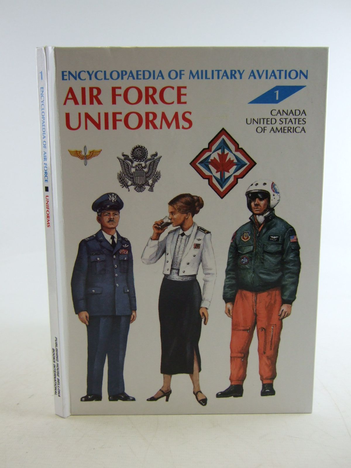 Photo of AIR FORCE UNIFORMS VOLUME 1 CANADA UNITED STATES OF AMERICA written by Galazka, Andrzej illustrated by Glowacki, Piotr<br />Wroblewski, Bohdan published by Books International (STOCK CODE: 1806902)  for sale by Stella & Rose's Books