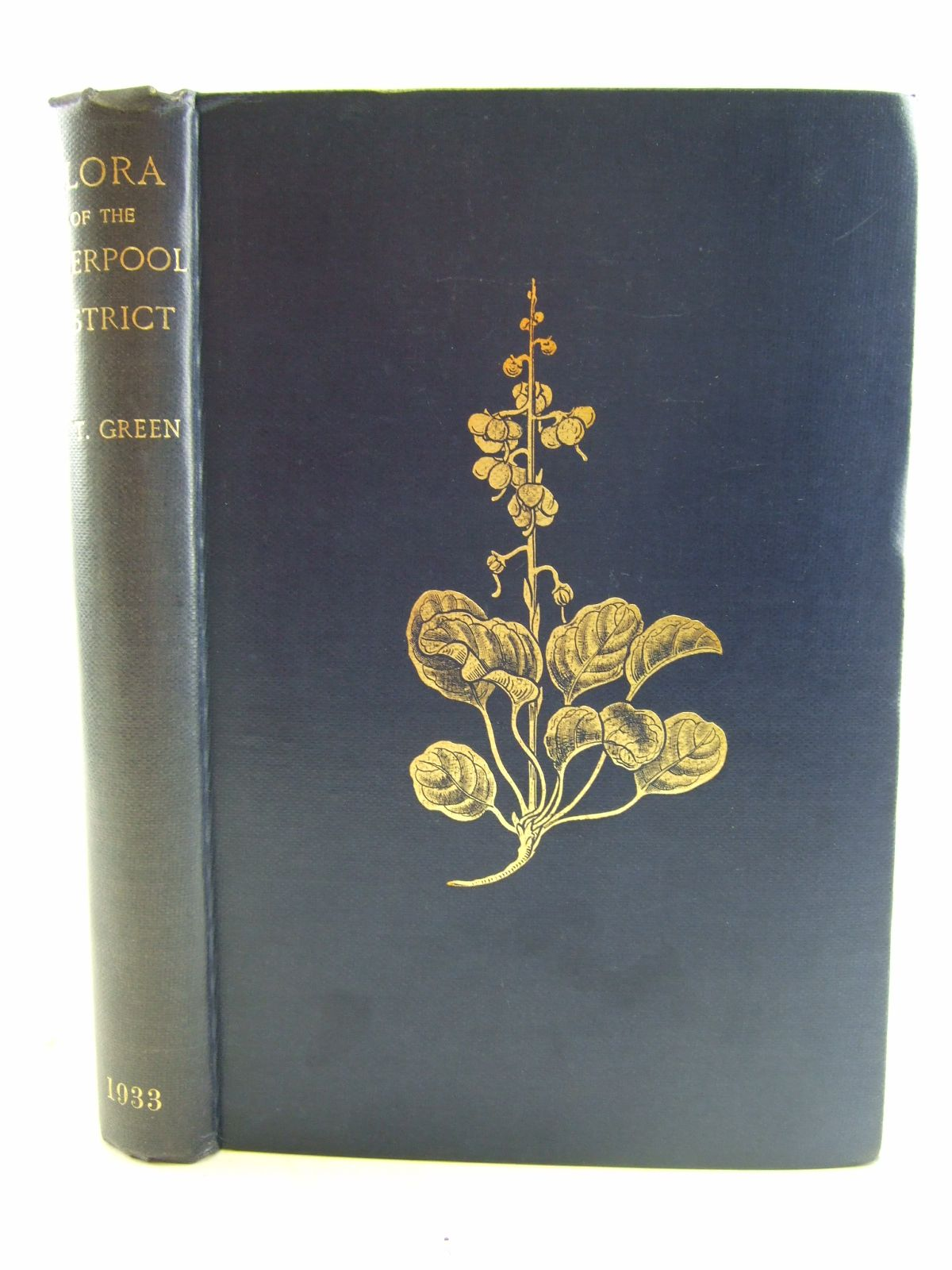 Photo of THE FLORA OF THE LIVERPOOL DISTRICT written by Green, C. Theodore published by T. Buncle & Co. (STOCK CODE: 1806937)  for sale by Stella & Rose's Books