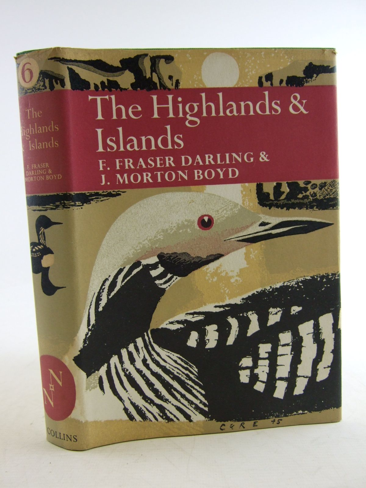 Photo of THE HIGHLANDS AND ISLANDS (NN6) written by Darling, Frank Fraser<br />Boyd, J. Morton published by Collins (STOCK CODE: 1807006)  for sale by Stella & Rose's Books