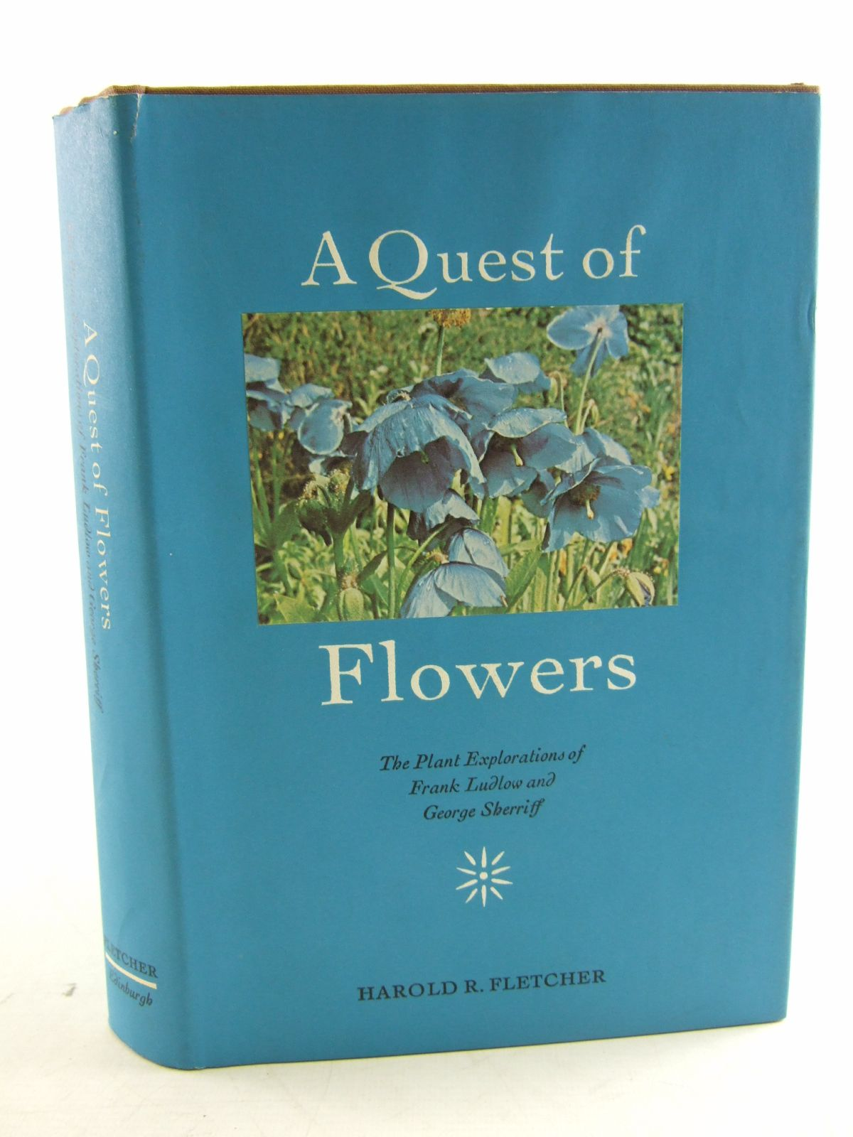 Photo of A QUEST OF FLOWERS written by Fletcher, Harold R. published by Edinburgh University Press (STOCK CODE: 1807038)  for sale by Stella & Rose's Books
