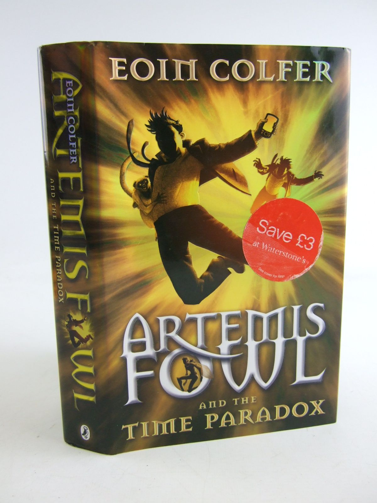 1200 Photo Of Artemis Fowl And The Time Paradox Written By Colfer, Eoin  Published By Puffin
