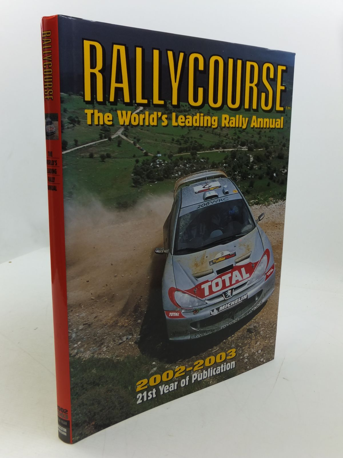 Photo of RALLYCOURSE 2002-2003 written by Williams, David published by Hazleton Publishing (STOCK CODE: 1807397)  for sale by Stella & Rose's Books