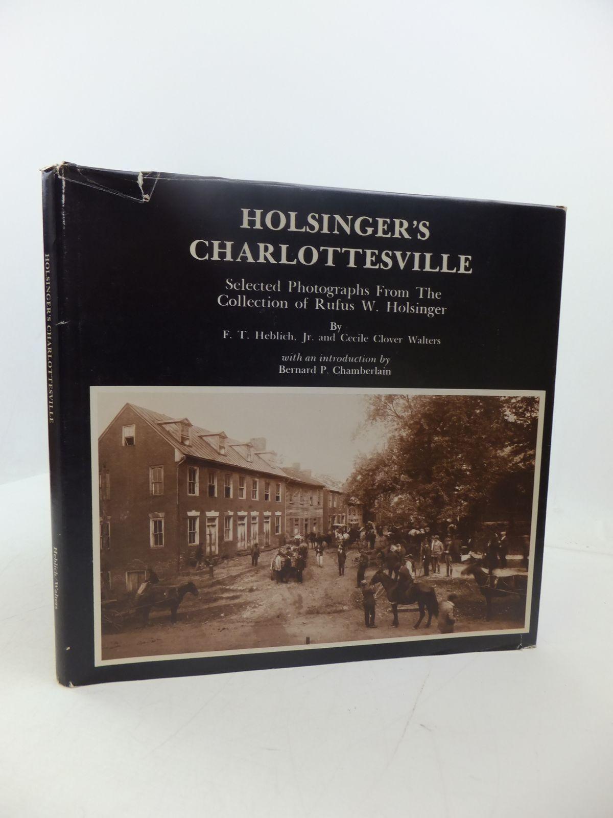 Photo of HOLSINGER'S CHARLOTTESVILLE 1890-1925