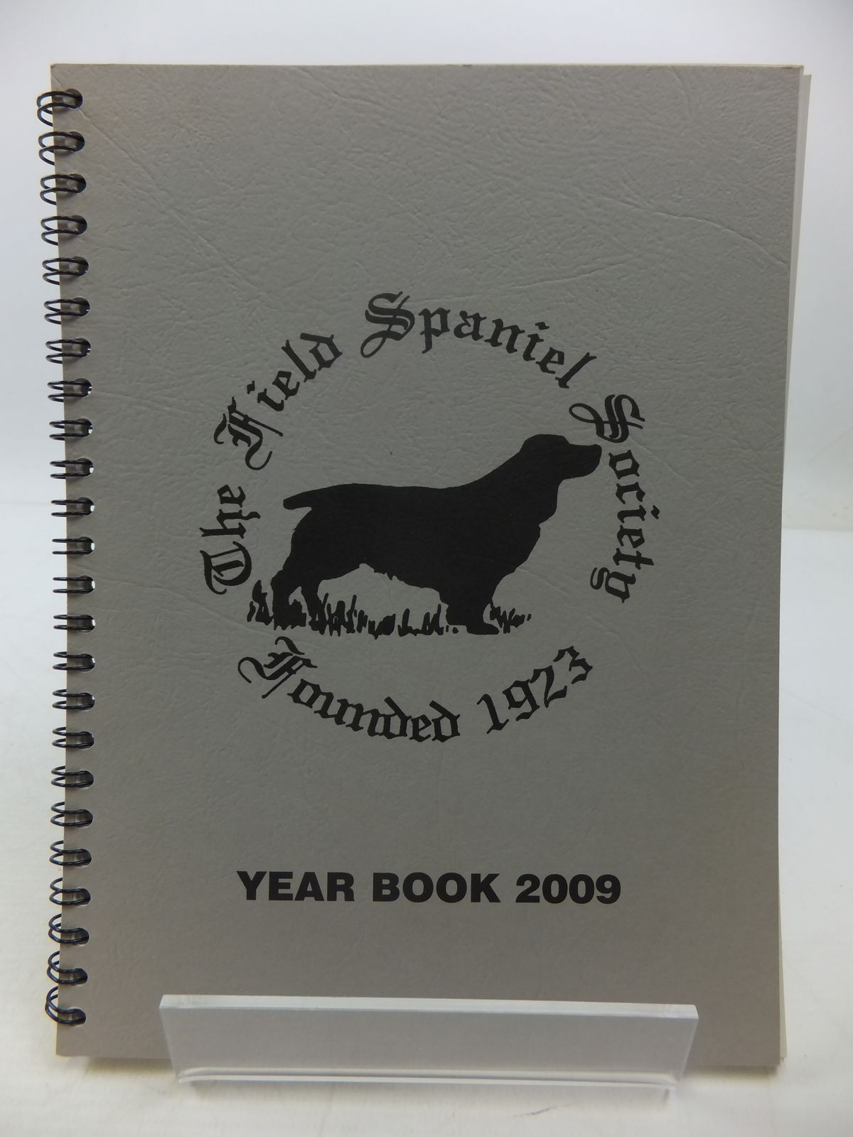 Photo of THE FIELD SPANIEL SOCIETY YEAR BOOK 2009 (STOCK CODE: 1807656)  for sale by Stella & Rose's Books