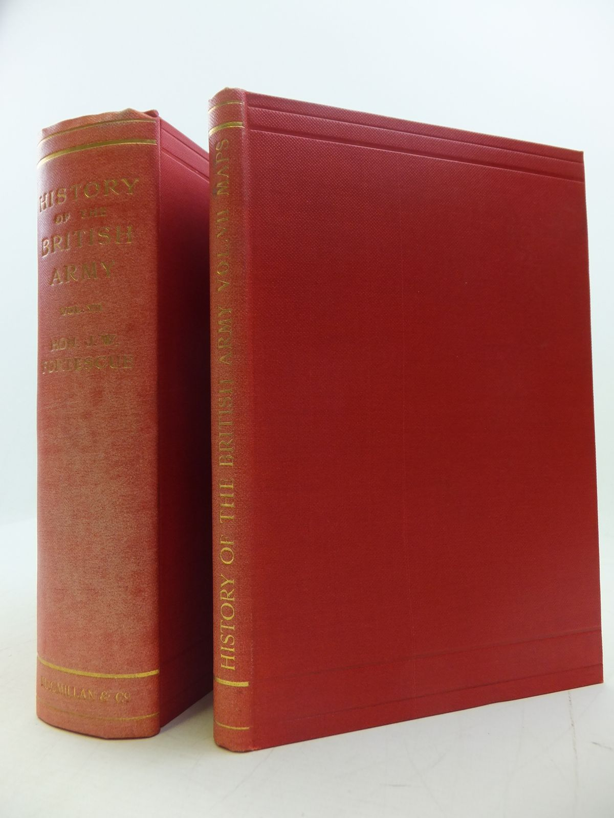 Photo of A HISTORY OF THE BRITISH ARMY VOLUME VII 1809-1810 AND MAPS